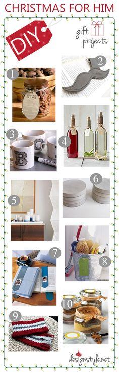DIY Christmas Gift Ideas For Him