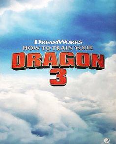 How to train your dragon 3 official poster <<<<<< aaaaaaaaaaaaaahhhhhhhhhh!!!!!!