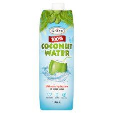 Coconut water - certified addict, its the next best thing after water for true thirst quenching relief. Water Uk, Cake Receipe, Tesco Groceries, Fresh Food Delivery, Coffee Packaging, Sainsburys, Coconut Water, Cholesterol, Dairy Free