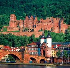 Heidelberg, Germany...my view in about a month!