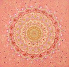 Mandala Pintura acrílica 30x30cm