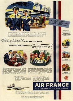 Anciennes affiches d'Air France
