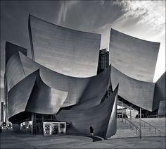 Frank Gehry's Walt Disney Concert Hall Los Angeles California