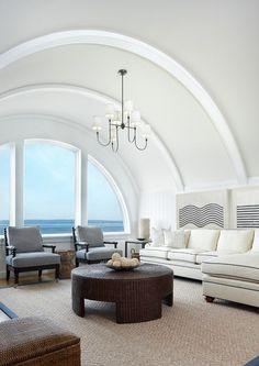 Luxury Beach House with Inspiring Coastal Interiors - Home Bunch – Interior Design Ideas House Design, Coastal Interiors, Interior Design, Luxury Homes, House, Luxury Interior Design, Home, Family Room, Coastal Family Rooms