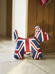 Union Jack Dog Doorstop