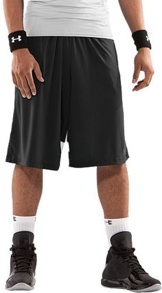 Our long and loose basketball shorts play light and dry. $29.99