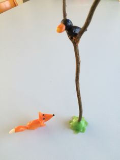 Bijenwas made by Nena,        De raaf en de vos, fabel