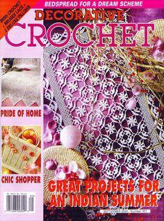 Decorative Crochet Magazines 65 - Gitte Andersen - Álbuns da web do Picasa...FREE MAGAZINE!!