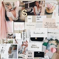 blush and pink inspiration for getting ready wedding outfits