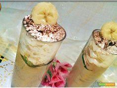 Frappè banana e cioccolato goloso  #ricette #food #recipes