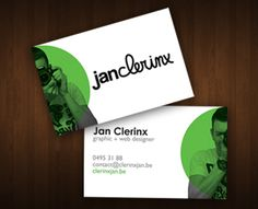 Jan Clerinx Standard Business Card