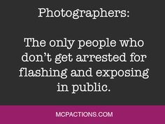 Funny Friday for Photographers