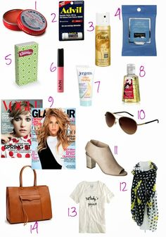 14 Travel Must Haves, carry on essentials, airport, packing, travel style