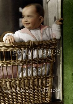 Anne Frank in a basket by VelkokneznaMaria on deviantART