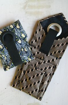 A great little pocket size pouch! The Tie Pocket Pouch.