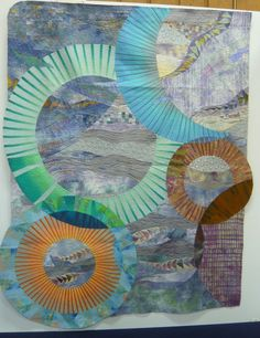 Contemporary Japanese quilt, SMM La Suite, posted by Lisabrod, September 2012 (France)