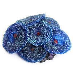 FACILLA®Planta Artificial Decoración Ornamento Adorno Azul Silicona para Acuario Pecera fitTek® http://www.amazon.es/dp/B00W752X10/ref=cm_sw_r_pi_dp_NTN8vb00HESE1