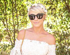 Julianne Hough rocked a flower crown. Coachella 2014
