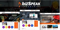 Bizspeak Joomla Template - Premium Joomla template with a variety of design and color options to give your site the custom look you need. This professional web layout is responsive and mobile ready.  This premium Joomla template comes with extensive documentation, and is supported by the theme developers.