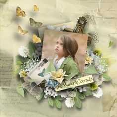 The Butterfly Journals2 | Digital Scrapbooking at Scrapbook Flair