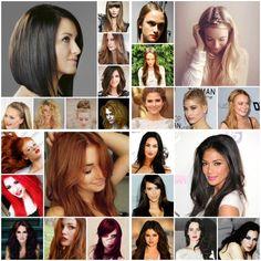 Long ,short , medium hair lengths