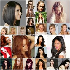 Long ,short , medium hair lengths
