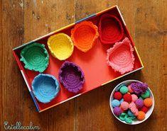 Doudou, maman, papa et moi: Un jeu de tri au crochet [inspiration Montessori ou Steiner-Waldorf ?] [tuto crochet] Diy, Inspiration, Couture, Crochet Toys Patterns, Easy Crochet, Crochet Baby, Mom, Projects, Trier