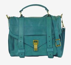 Proenza Schouler Teal Shoulder Bag