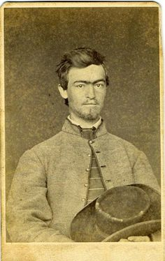 civil war kentucky soldiers | Co. E, 4th Kentucky Infantry, CSA. - John R. Boyette from Versailles