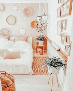 Cute Bedroom Decor, Room Ideas Bedroom, Bedroom Inspo, Dream Bedroom, Cute Room Ideas, Aesthetic Room Decor, Cozy Room, My New Room, Girl Room