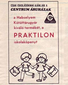 Centrum Praktilon iskolaköpeny Advertising, Ads, Retro Posters, Illustrations And Posters, Comics, Vintage, Illustrations Posters, Cartoons, Vintage Comics