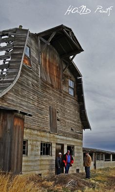 Old Barn; Buhl, ID