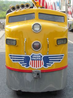 Guests were able to ride on the mini train from Union Pacific