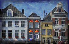 Lovely image from #Holland. In DEn Gouden Appel by Mary Machare. #wallart #buyart #artforsale