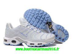 Nike Air Max Tn Fluorescente Chaussures Basket Pour Homme Blanc/Bleu 604133-450A