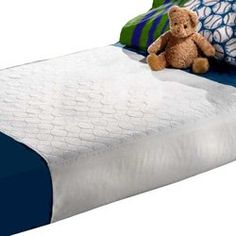 Babydoll Bedding Full Saddle Style Waterproof Mattress Protector for Bed -- For more information, visit image link.