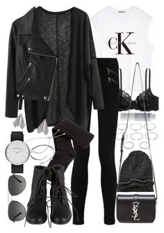 """Untitled #7205"" by nikka-phillips ❤ liked on Polyvore featuring Forever 21, Korres, Element, Calvin Klein, H&M, Yves Saint Laurent, rag & bone/JEAN, Acne Studios, Cartier and Monica Vinader"
