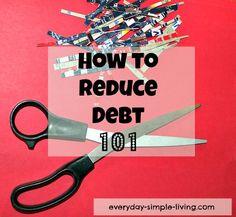 Easy debt reduction strategies!