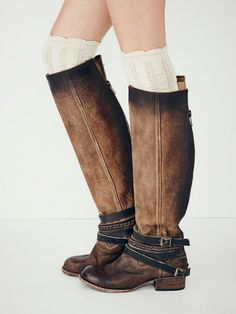 Free People Brown Landon Tall Boot