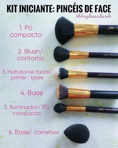 Make Makeup, Glam Makeup, Makeup Kit, Makeup Brushes, Beauty Makeup, Make Beauty, Beauty Care, Beauty Hacks, Makeup Guide