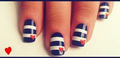 nautical nails by Verovento