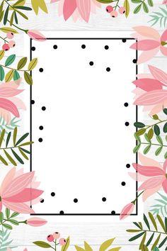 Me encanta le voy a mostrar mi mami Go Wallpaper, Wallpaper Backgrounds, Invitation Background, Flamingo Party, Borders And Frames, Floral Border, Flower Frame, Background Patterns, Cute Wallpapers