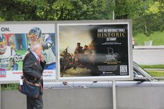 Love history? Check out this Washington Crossing Historic Park poster on the platforms of the Long Island Railroad and Metro North transit lines.