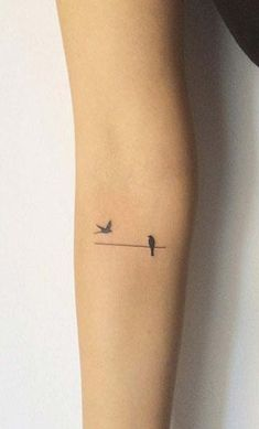 minimalist bird tattoo minik kuş dövmeleri