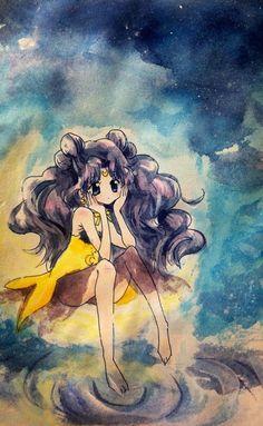 girlsbydaylight:  かぐや姫ルナ by 444 on pixiv