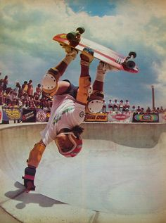 Micke Alba, High Roller Skatepark, 1979 #Skateboarding Malba is a Vikings of Skate fan:)