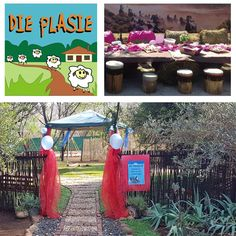 Die Plasie, is a fun-filled farmyard adventure. Where children can pet bunnies and see a variety of different farm animals such as a horses, kalves, lambs, ducks, chickens and many more. Go on a horse-ride. It is a Kids Party Venue near Hartbeespoort with farmyard petting zoo and 'Plasie' -style atmosphere and adventure for young and old.