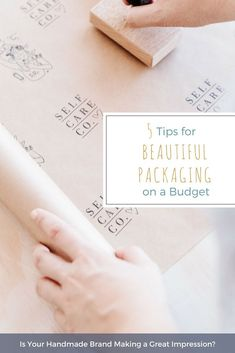 For an online seller, packaging is the first physical impression of your brand to your customer, and plays an important role in representing your brand and giving your customers a great experience when they order from you. Even for independent handmade brands on a shoestring budget, beautiful packaging is possible. Rebecca McIntyre from Woodruff and Co tells you how on the Madeit blog this