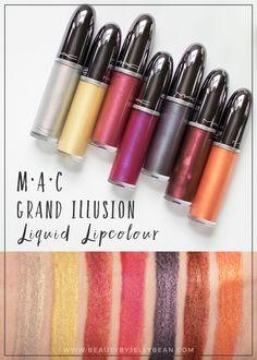 MAC Grand Illusion Liquid Lipcolour   Beauty by Jelly Bean