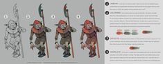 Bestiary Coloring Process by Deimos-Remus
